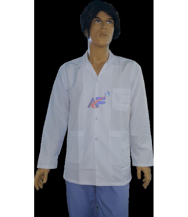 beyaz önlük ceket boy